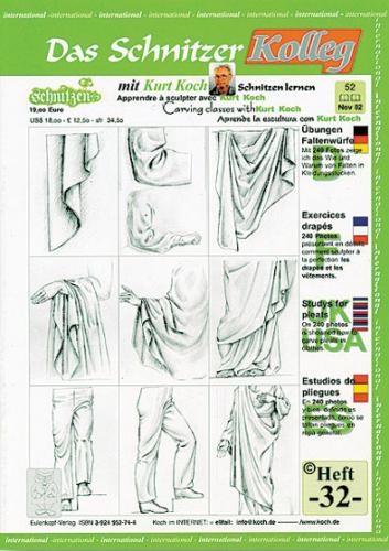 Kolleg Nr. 32 Falten und Kleidungen