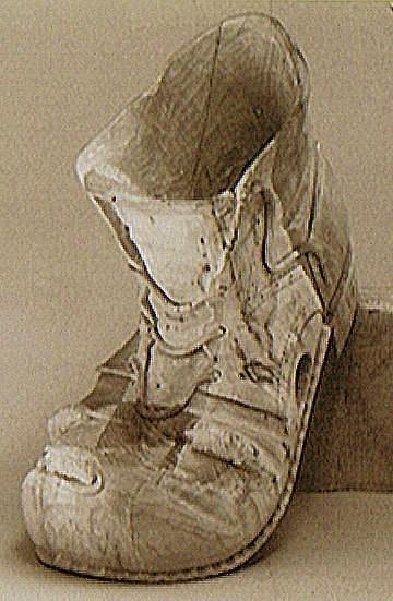 Ein ausgelatschter Schuh