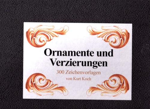 Ornamente und Verzierungen - Band 1