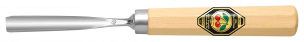 Gerades Hohleisen (kurzer Shaft, ca. 90mm) Stichbild 6