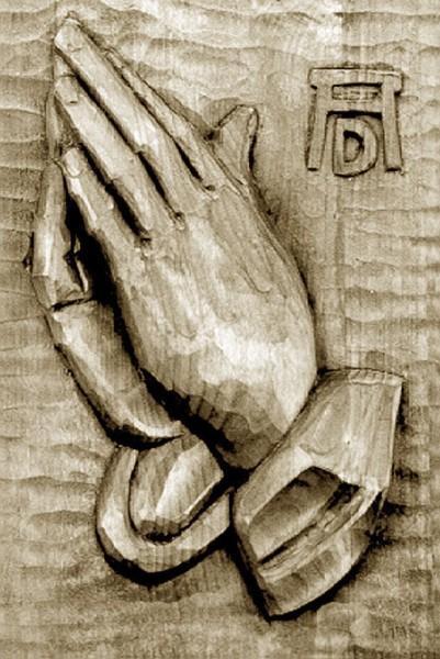 Betende Hände nach A. Dürer