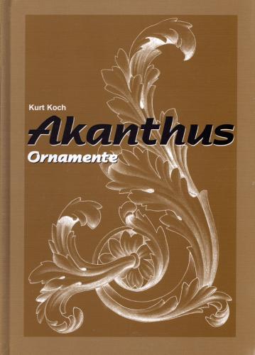 Akanthus - Ornamente und Verzierungen 3