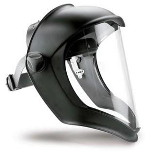 Gesichtsschutz Pulsafe Bionic mit klarem PC-Visier, maximaler Schutz