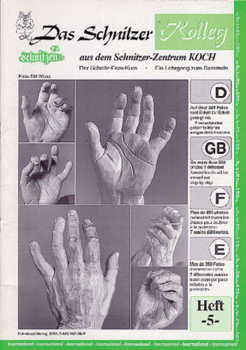 """Kolleg Nr. 5 Anatomie """" Hände schnitzen"""""""