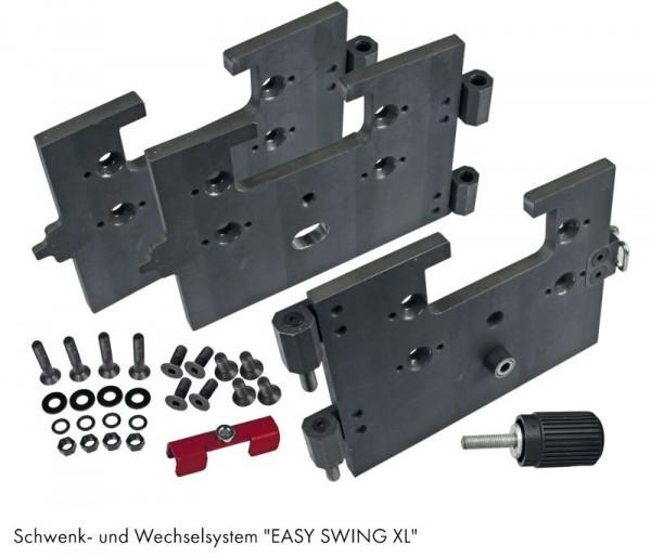 STRATOS / TWISTER XL: SCHWENK- UND WECHSELSYSTEM EASY SWING XL