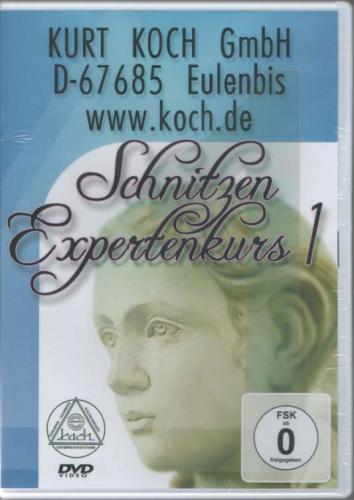 DVD-Film Schnitzen EXPERTENKURS 1