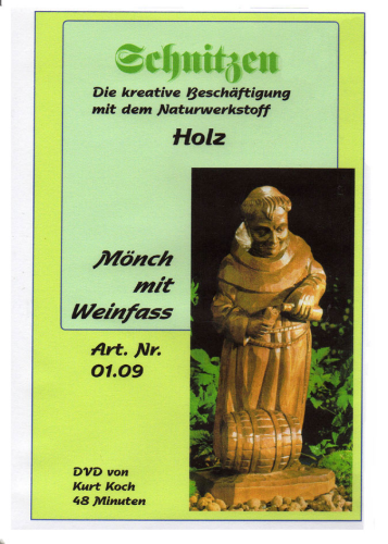 DVD-Film Mönch mit Faß
