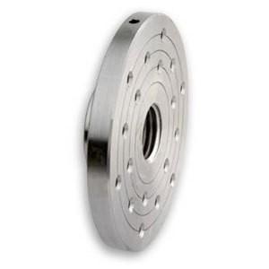 Planscheibe, Stahl mit drei Teilkreisen Ø 150 mm Gewinde M33x3,5