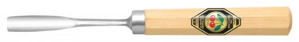 Gekröpftes Hohleisen (kurzer Shaft, ca. 90mm) Stichbild 8