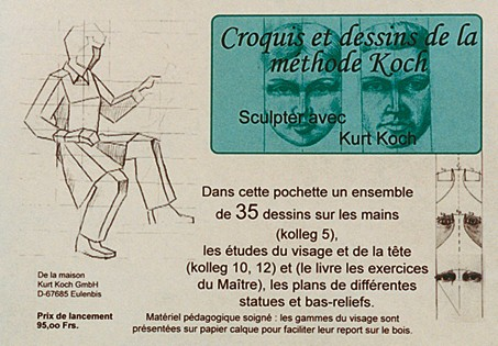 Sammlung von 35 gezeichneten Vorlagen zum Buch Meisterliche Ubungen Band 1