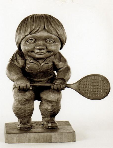 Der Tennisspieler
