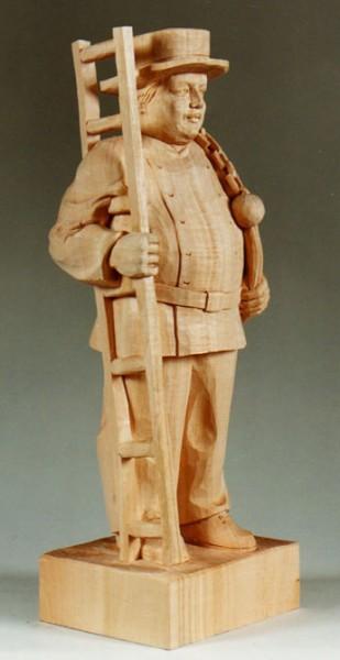 Lindenblock f. Kaminfeger 53x18x15 cm