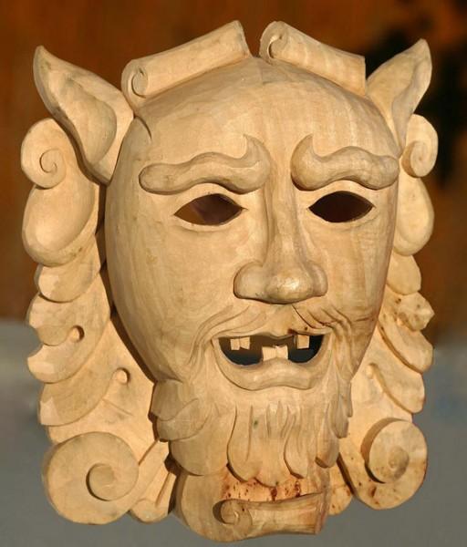 Maske aus Kolleg 40