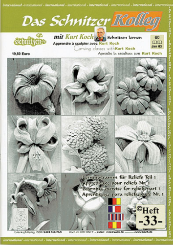 Kolleg Nr. 33 Zehn kleine Blumen
