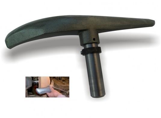 Handauflage-Oberteil für Schalen-Außenbearbeitung