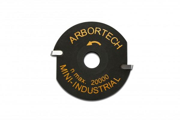 Mini Hartmetall Frässcheibe 50mm