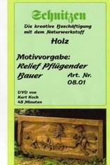 DVD-Film Relief Pflügender Bauer