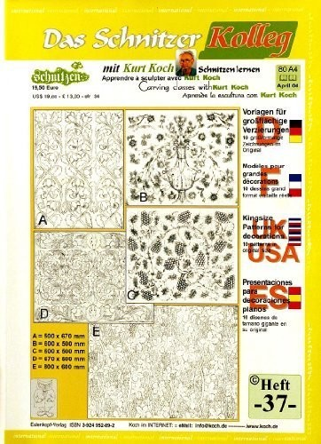 Kolleg Nr. 37 Großformatige Vorlagen f. Flachreliefs und Dekorationen