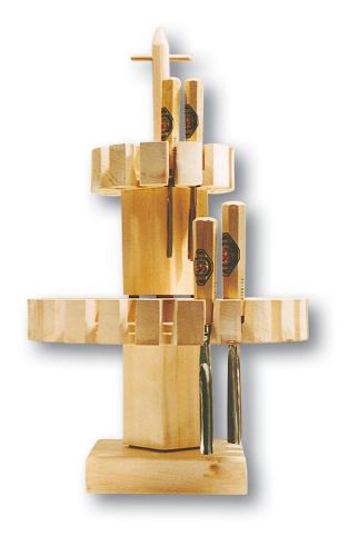 Beitelkarussel f. 36 Schnitzbeitel