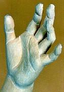 "Lindenblock f. Übung ""Hand"" 15x7x6 cm"