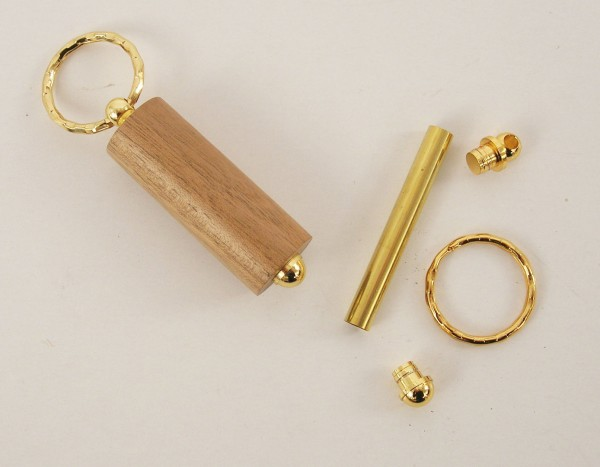 Schlüsselring gold