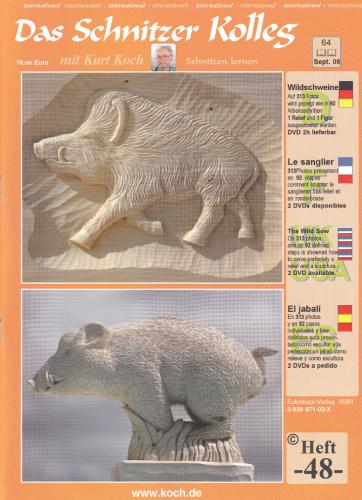 Kolleg Nr. 48 Ein Wildschwein
