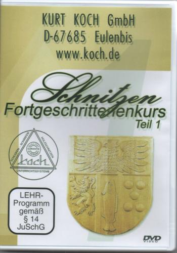 DVD-Film Schnitzen FORTGESCHRITTENEN-KURS 1