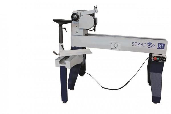 STRATOS / TWISTER XL: AUSSENDREH- / BETTVERLÄNGERUNG 500 MM FÜR DRECHSELMASCHINEN